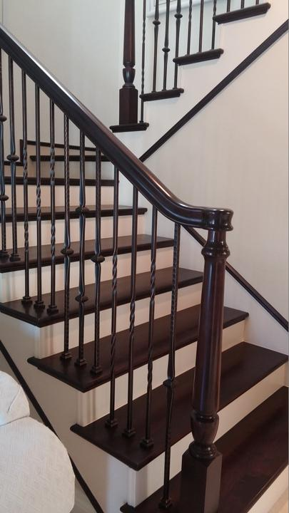 Wood Stair Railing Gallery