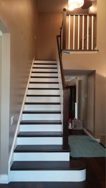 stair railing interior