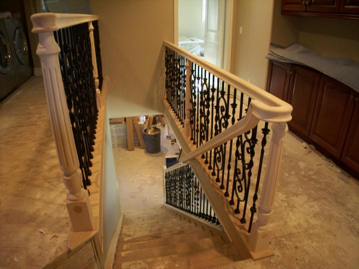Iron Wood Stair Railing Contractors Laguna Niguel Ca